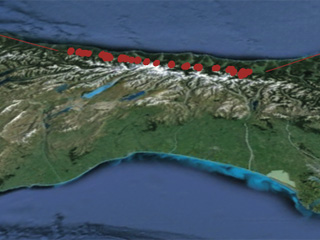 Stress levels on the Alpine fault